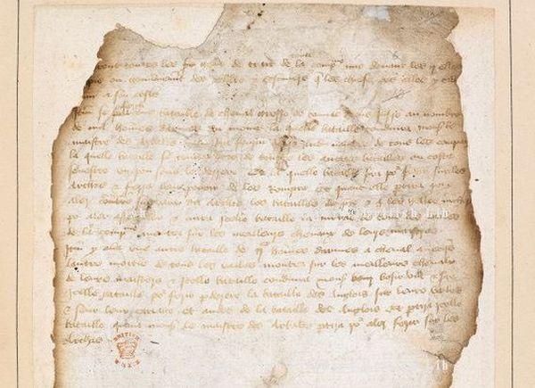 Un plan de bataille des Français à Azincourt a été retrouvé dans les archives de la British Library.