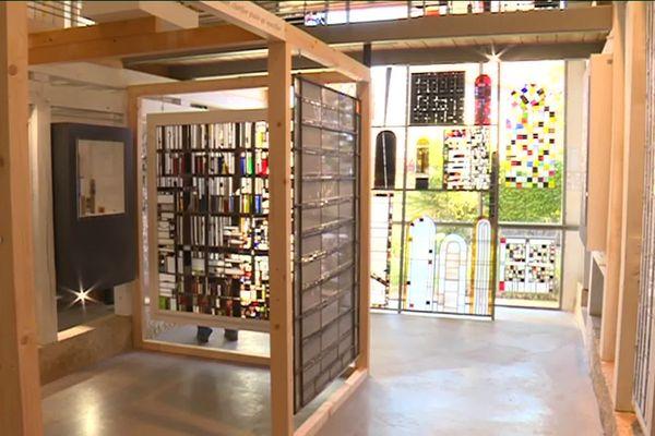 La Grange aux Verrières, exposition.
