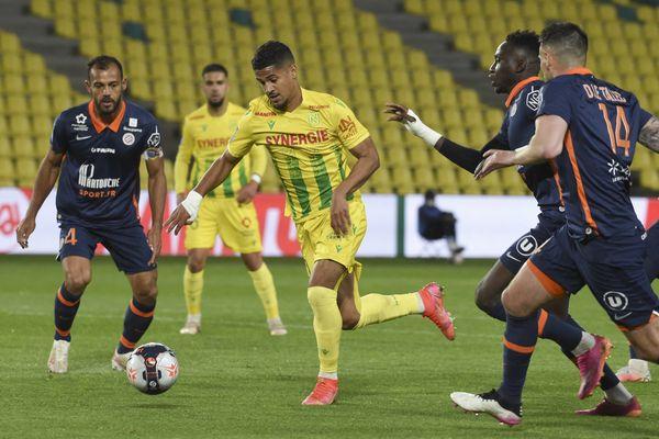 Les Montpelliérains se sont imposés face à Nantes ce dimanche lors de la dernière journée de Ligue 1, ils terminent 8ème du classement - 23 mai 2021