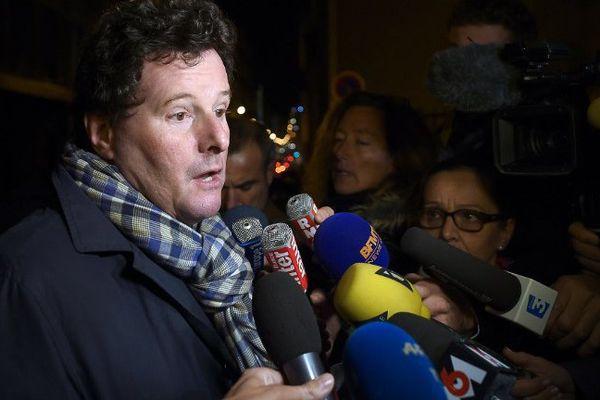 L'avocat des deux pilotes Maitre Jean Reinhart , hier soir à Marseille