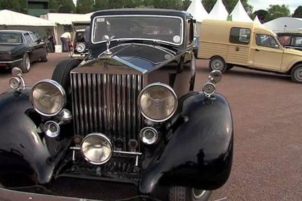Le public pourra admirer ce week-end des Rolls-Royce des années 30 sur l'hippodrome de Caen