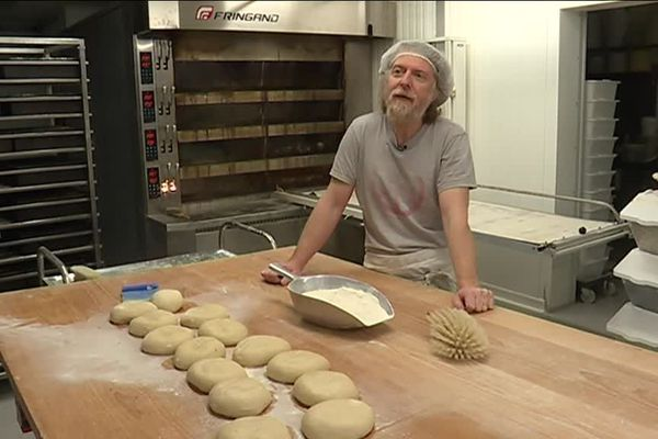 Les Pains Vagabonds : la boulangerie a été créee par Xavier Moreau il y a 2 ans.