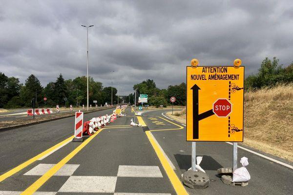 Un nouvel aménagement jugé dangereux par les automobilistes.