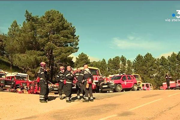 Plus de 200 personnels de secours sont encore mobilisés sur la zone de l'incendie qui a ravagé 2.500 hectares entre Quenza et Solaro.