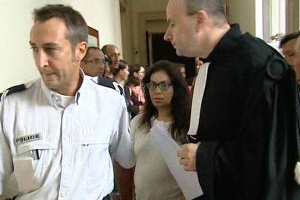 Famima Ennajah à la chambre de l'instruction de la cour d'appel de Pau.