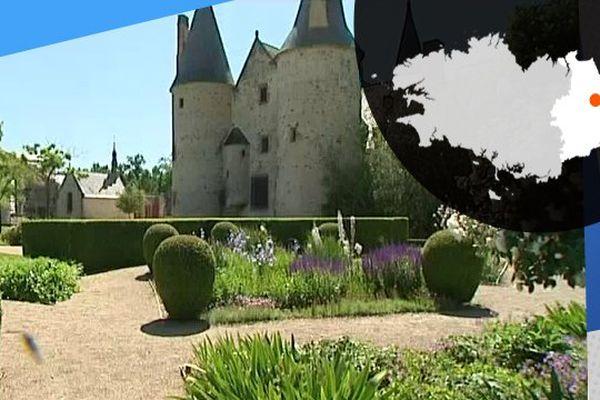 Le château du Bois Orcan possède de magnifiques parcs
