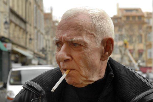 Jacky Le Mat en 2008 lors de sa dernière comparution devant la cour d'appel pour extorsion de fonds