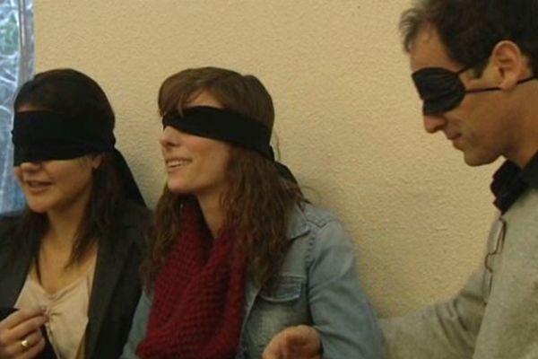 Les étudiants de Sup de Co se sont prêtés à des jeux de rôles sur le handicap