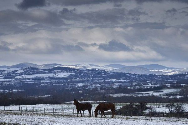 Janvier 2017 : Températures polaires en région Auvergne Rhône Alpes. Les plus anciens se souviennent de l'année 1956.