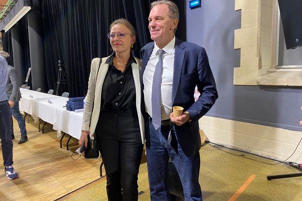 Sophie Joissains aux côtés du président de Région Renaud Muselier.