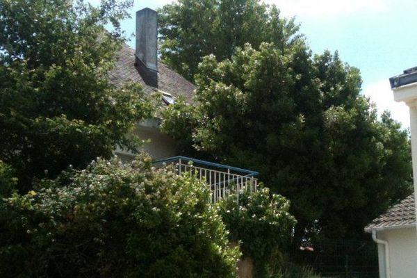 Le corps d'Emmanuel Popineau a été retrouvé sur la terrasse de cette maison le 14 juin 2014