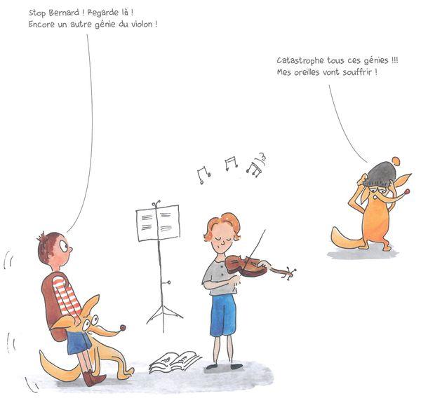 Textes et dessins d'Isabelle Lecerf-Dutilloy