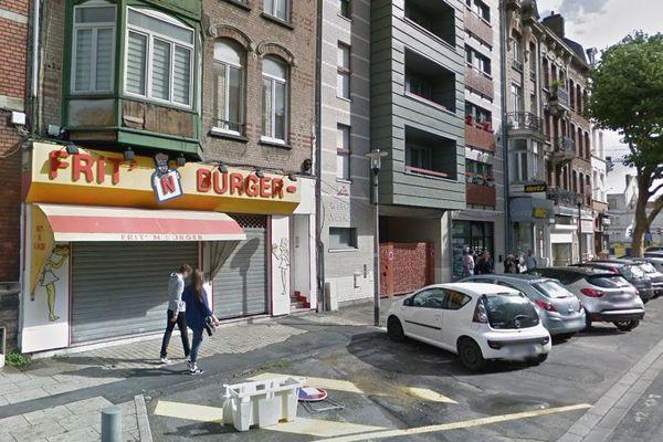 Le braquage a eu lieu dans cette friterie de Dunkerque.