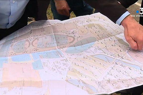 Selon Core in Fronte, le projet à Lucciana (Haute-Corse) prévoit 40 000 m2 de constructions dont 28 000 m2 de surface de vente.