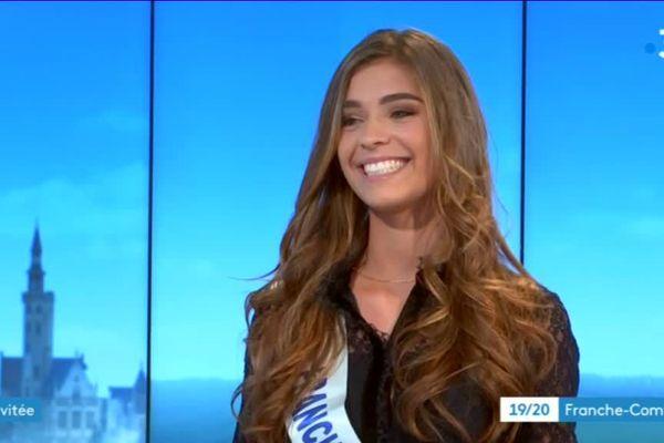 Lauralyne Demesmay a été sacrée Miss Franche-Comté le samedi 20 octobre 2018. Elle défendra les couleurs de la région le 15 décembre à Lille.