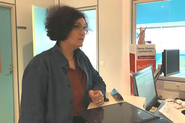 Karine Jaubertie, directrice du site de production Boiron de Montrichard depuis 16 ans.