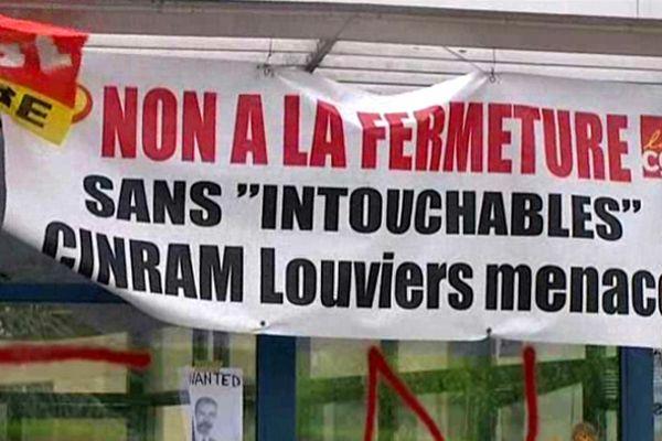 L'usine Cinram à Louviers