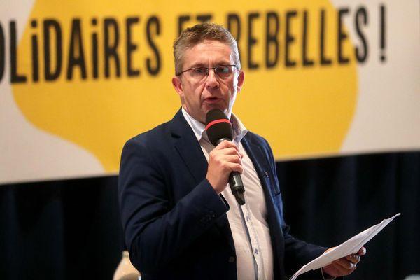 - Photo d'illustration - Christophe Ferrari à Grenoble, le 22 août 2018, lors de l'université d'été solidaire et rebelle des mouvements sociaux et citoyens.