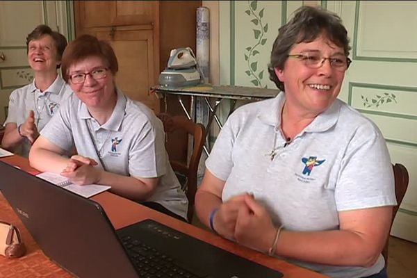 Août 2018-Trois des soeurs blogueuses de Saint-Aubin les Elbeuf