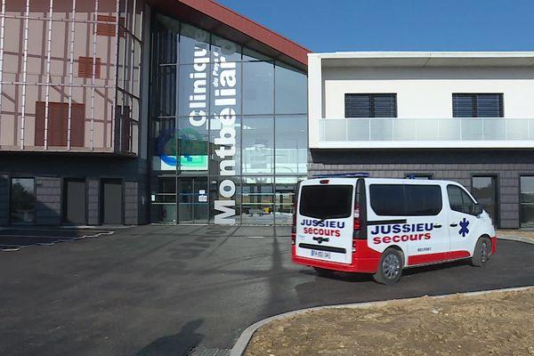 La nouvelle clinique privée de Montbéliard a ouvert ses portes le 1er mars.