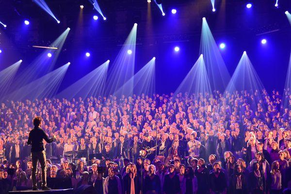 Une chorale version XXL unique en France, réunie pour la clôture des Nuits de Champagne.