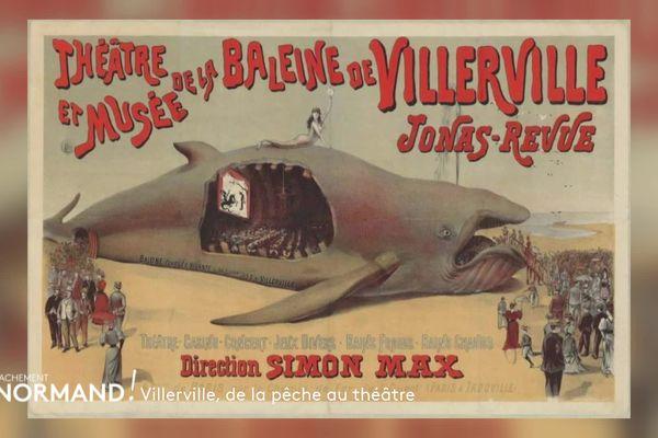 Le théâtre de la baleine de Villerville