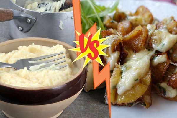 Pas facile de choisir entre l'aligot et la truffades, deux plats de la gastronomie du Massif central.