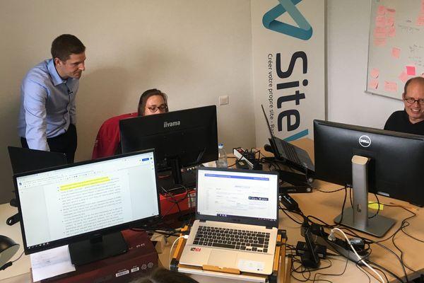 Installée à la campagne, à Yolet dans le Cantal, SiteW se démarque des autres start-up spécialisées dans le numérique.