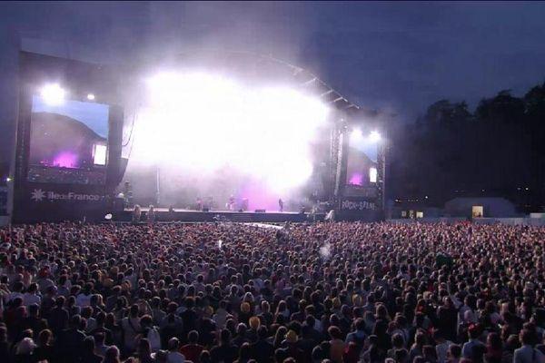 Le festival Rock en Seine, édition 2017.
