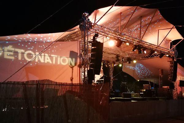 Une scène du festival Détonation lors de l'édition 2017.