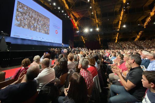 5 000 personnes rassemblées ce soir à la Halle Tony Garnier pur la cérémonie d'ouverture de Lumière 2019
