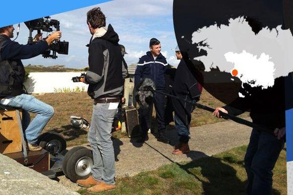 Sur le tournage de West Coast, à Ploemeur