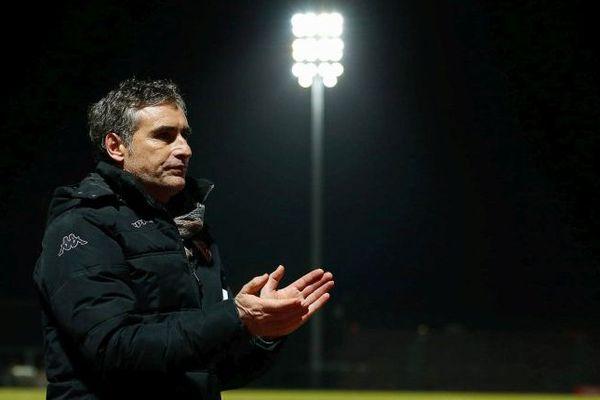 Olivier Dall Oglio, l'entraîneur du DFCO