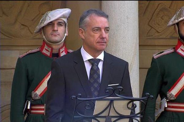 Le président Urkullu à Guernica