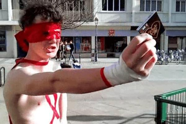 """La vidéo """"Protect-Man"""" réalisée par des lycéens caennais sera diffusée dans 19 000 établissements en France"""