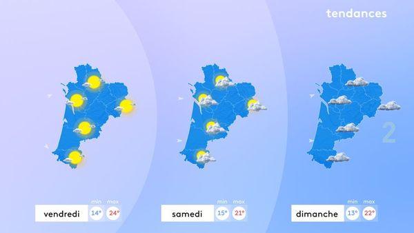 Mis à part vendredi, le soleil restera discret ce week-end et les températures deviendront bien automnales !