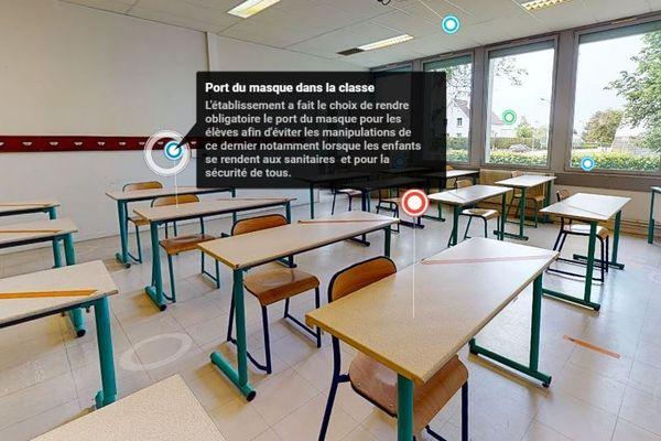 Le port du masque sera obligatoire pour les élèves en classe.