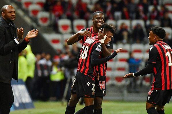 Des joueurs de l'OGC Nice le 21 décembre dernier, en match de Ligue 1