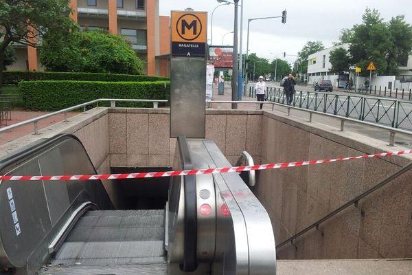 La station Bagatelle a été fermée