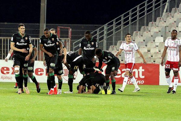 Les Lensois ont arraché une précieuse victoire vendredi à Ajaccio.