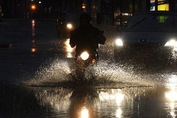 Il est tombé l'équivalent de 20 jours de précipitations du mois de juin en seulement quelques heures ce mercredi. (Illustration)