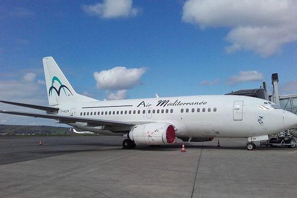 L'un des deux Boeing 737-500 mis en vente à Tarbes suite à la liquidation judiciaire d'Air Méditerranée.