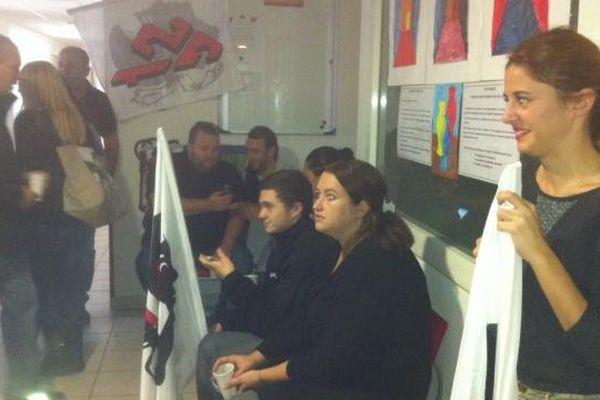 09/10/13 - Occupation des locaux de l'ARS par le STC de Castelluccio