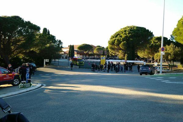 Le collège Berty Albrecht, à Sainte Maxime.