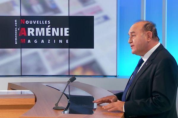 Le journaliste drômois Krikor Amirzayan traite du conflit au Haut-Karabakh pour le site d'information Armenews.fr.