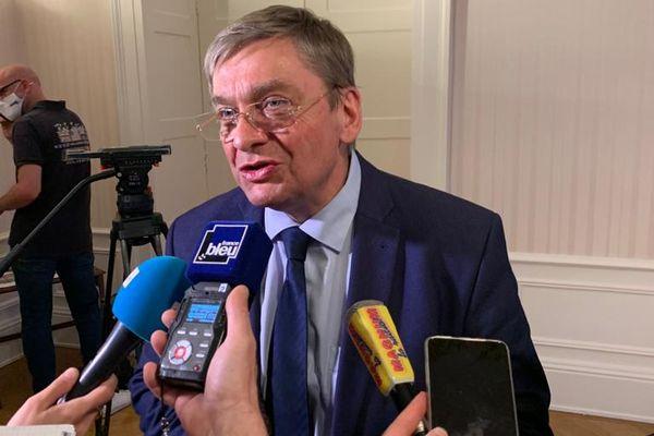 Le président (LR) sortant François Vannson a été réélu dans son canton. Il va bénéficier d'une majorité très large dans le Département des Vosges.
