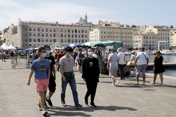 Dans les Bouches-du-Rhône, le taux d'incidence vient de dépasser le seuil de 200 cas pour 100 000 habitants.