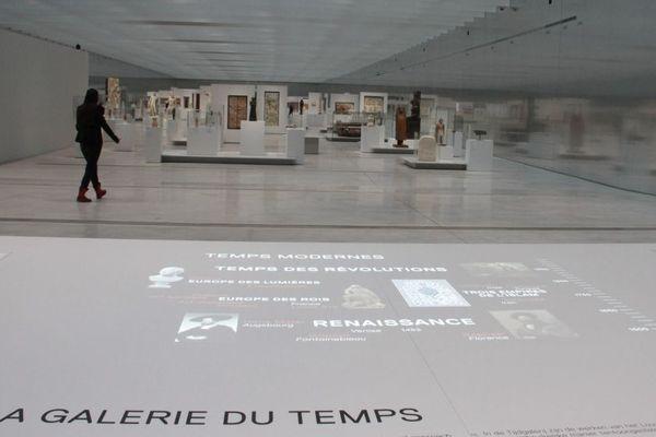 """La Galerie du Temps, """"c'est l'histoire de l'art en 30 minutes pour les Nuls"""", dénonce La Tribune de l'Art."""