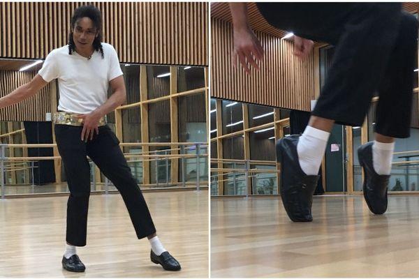 Matis Jackson connaît par cœur toutes les chorégraphies des plus grands tubes de Michael Jackson. Il les a apprises auprès d'anciens danseurs du roi de la pop.