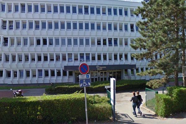La CPAM, Boulevard Allende à Arras